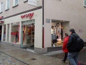 Orsay fashion Wilhelmstr. Reutlingen