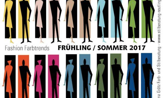 Eine Übersicht der zehn bestimmenden Farben im Frühling und Sommer 2017