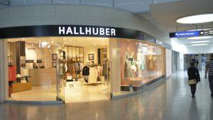 hallhuber-filiale am flughafen stuttgart