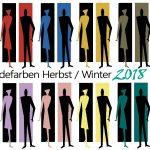 Palette der Trendfarben im Herbst/Winter 2018