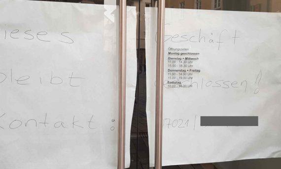 Aschenbrenner hat Geschäft in Reutlingen geschlossen