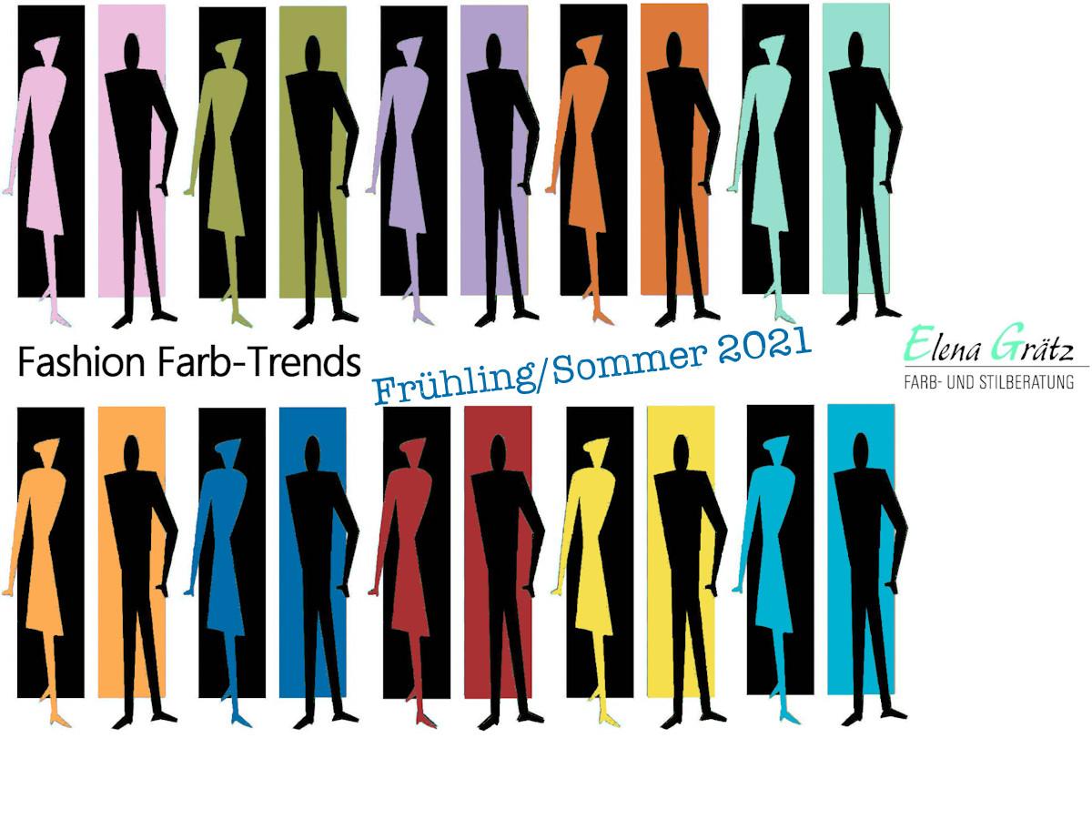 Trendfarben für Frühjahr 2021